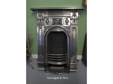 Beautiful Victorian reproduction fireplace