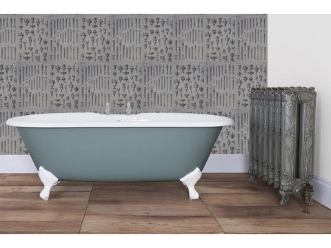 Bisley double ended roll top bath