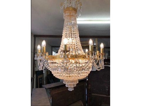A Stunning 24 Light Chandelier