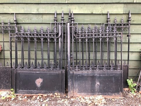 2 sets of Ornate driveway gates can be sold separately