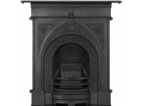 Knaresborough cast iron fireplace black finish