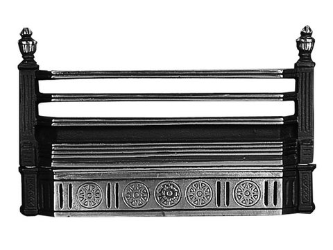 21''Cast Iron Fire Front Bars (Hook On)