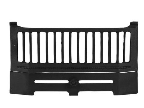 18.25'' Victorian Style Cast Iron Fire Bars (Hook On)