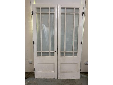 Pair of victorian/Edwardian style French doors  pd1